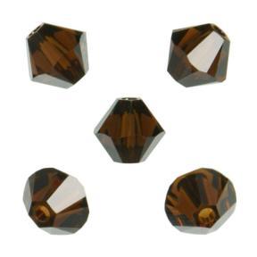 Swarovski Xilion beads 5 мм Mocca