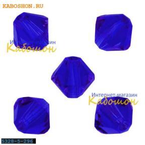 Swarovski Xilion beads 6 мм Majestic Blue