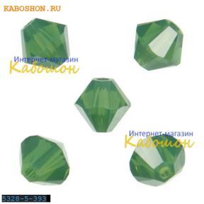 Swarovski Xilion beads 5 мм Palace Green Opal