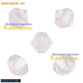 Swarovski Xilion beads 5 мм Rose Water Opal