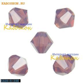 Swarovski Xilion beads 5 мм Cyclamen Opal