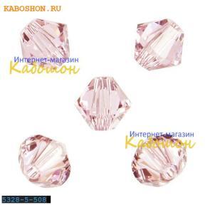 Swarovski Xilion beads 5 мм Rosaline
