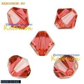 Swarovski Xilion beads 5 мм Padparadscha