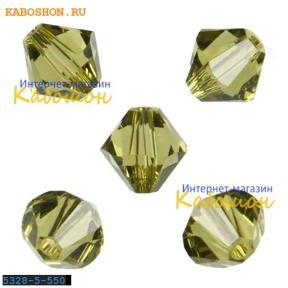Swarovski Xilion beads 5 мм Khaki