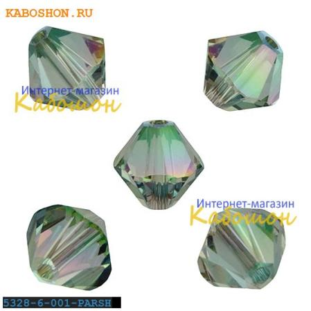Swarovski Xilion beads 6 мм Crystal Paradise Shine