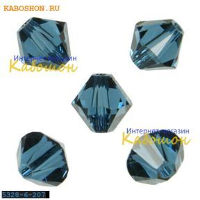 Swarovski Xilion beads 6 мм Montana