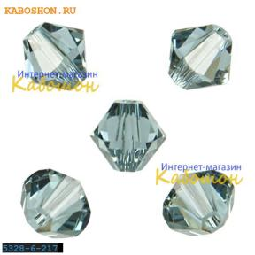 Swarovski Xilion beads 6 мм Indian Sapphire