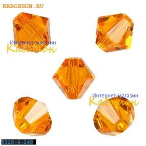 Swarovski Xilion beads 6 мм Sun