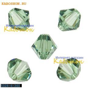 Swarovski Xilion beads 6 мм Erinite