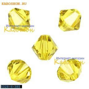 Swarovski Xilion beads 6 мм Lime
