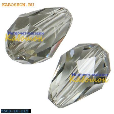 Swarovski Teardrop Bead 10,5 мм Black Diamond