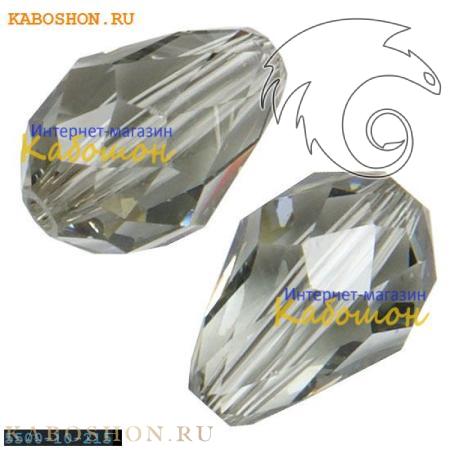Swarovski Teardrop Bead 10,5 мм Black Diamond 5500-10-215