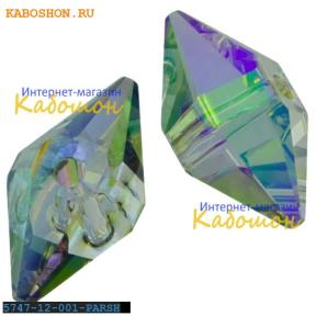 Swarovski Double Spike Bead 12 мм Crystal Paradise Shine