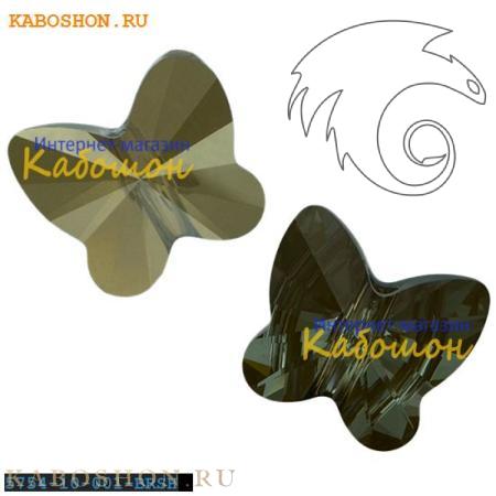 Swarovski Butterfly Bead 10 мм Crystal Bronze Shade 5754-10-001-BRSH