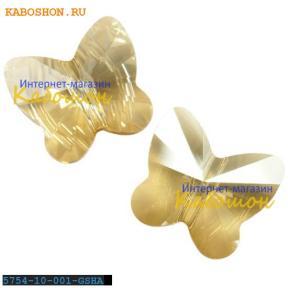 Swarovski Butterfly Bead 10 мм Crystal Golden Shadow