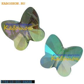 Swarovski Butterfly Bead 10 мм Crystal Paradise Shine