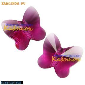 Swarovski Butterfly Bead 10 мм Fuchsia