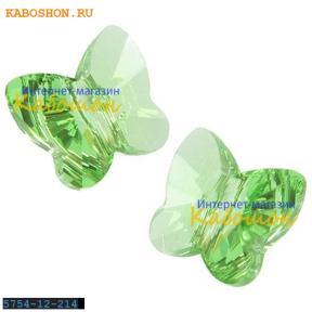 Swarovski Butterfly Bead 12 мм Peridot