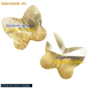 Swarovski Butterfly Bead 8 мм Crystal Golden Shadow