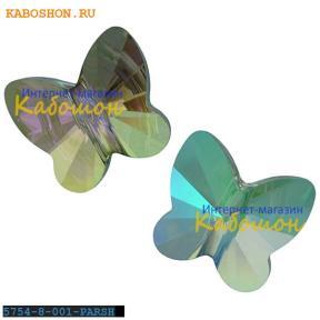 Swarovski Butterfly Bead 8 мм Crystal Paradise Shine