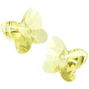 Swarovski Butterfly Bead 8 мм Jonquil