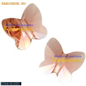 Swarovski Butterfly Bead 8 мм Blush Rose