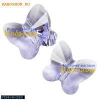 Swarovski Butterfly Bead 8 мм Provence Lavender