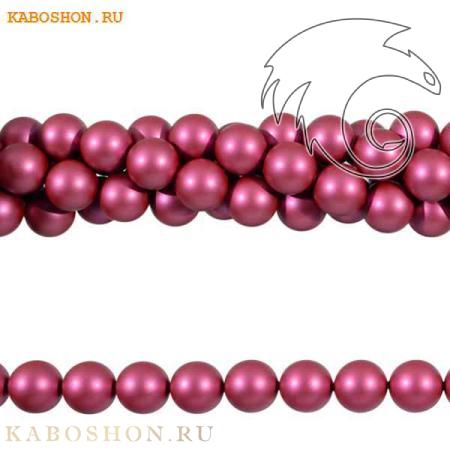 Жемчуг Swarovski 8 мм Crystal Mulberry Pink