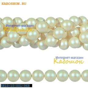 Жемчуг Swarovski 12 мм Crystal Pearlescent White