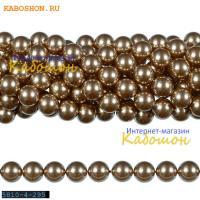 Жемчуг Swarovski 4 мм Crystal Bronze