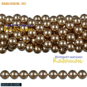 Жемчуг Swarovski 3 мм Crystal Bronze