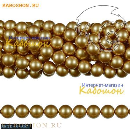 Жемчуг Swarovski 3 мм Crystal Vintage Gold