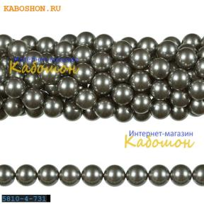 Жемчуг Swarovski 3 мм Crystal Grey