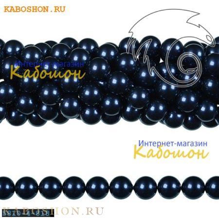 Жемчуг Swarovski 3 мм Crystal Night Blue