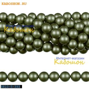 Жемчуг Swarovski 6 мм Crystal Powder Green