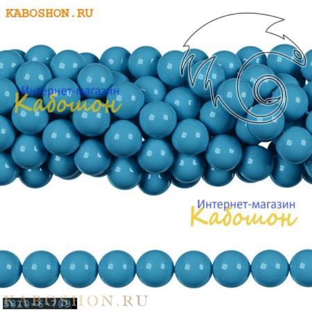 Жемчуг Swarovski 6 мм Crystal Turquoise
