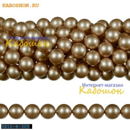 Жемчуг Swarovski 12 мм Crystal Powder Almond 5810-12-305