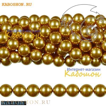 Жемчуг Swarovski 12 мм Crystal Bright Gold