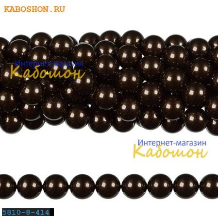 Жемчуг Swarovski 10 мм Crystal Deep Brown