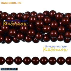 Жемчуг Swarovski 8 мм Crystal Bordeaux