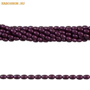 Жемчуг Swarovski рис 4 мм Crystal Elderberry