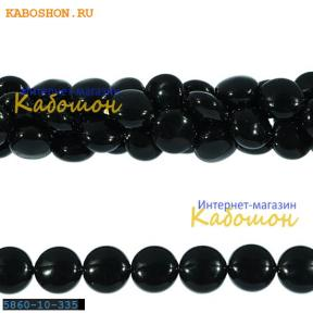 Жемчуг Swarovski 10х6 мм Crystal Mystic Black