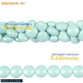 Жемчуг Swarovski 10х6 мм Crystal Pastel Blue