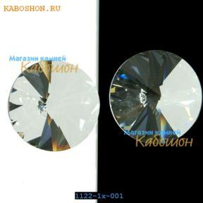 Swarovski Rivoli 16 мм Crystal (Unfoiled)