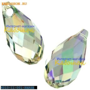 Swarovski Briolette 11х5,5 мм Crystal Paradise Shine