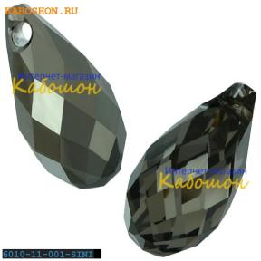 Swarovski Briolette 11х5,5 мм Crystal Silver Night