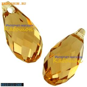 Swarovski Briolette 11х5,5 мм Light Colorado Topaz
