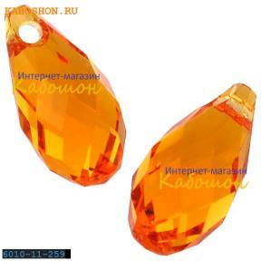 Swarovski Briolette 11х5,5 мм Tangerine