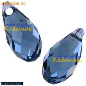 Swarovski Briolette 11х5,5 мм Denim Blue