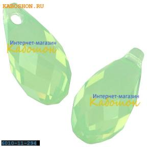 Swarovski Briolette 11х5,5 мм Chrysolite Opal